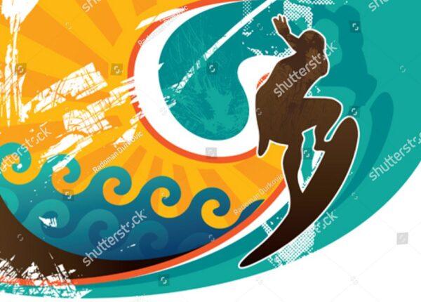 Аквалангист плывет по дну океана