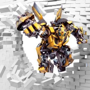 желтый робот