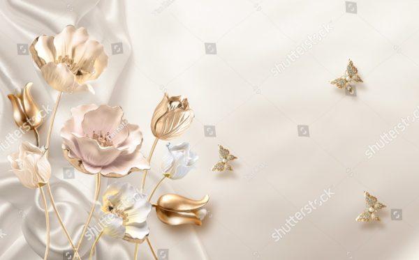 Цветок 3д