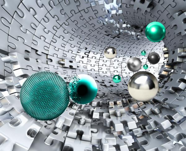 шары в туннеле