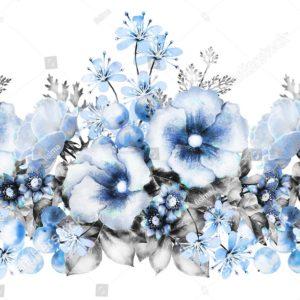 цветы на горе