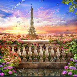 stock-photo-beautiful-view-of-the-evening-paris-1428400889