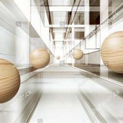 stock-photo-illustration-of-d-brown-sphere-pattern-on-decorative-background-d-wallpaper-graphical-modern-art-1389027527