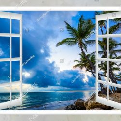 stock-photo-open-window-view-of-the-sky-with-clouds-sunrise-417725737
