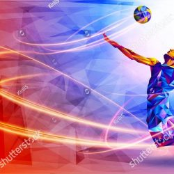 stock-vector-silhouette-of-triangle-volleyball-player-vector-illustration-1219592755